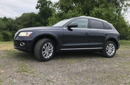 Audi Q5 with KO2 tires
